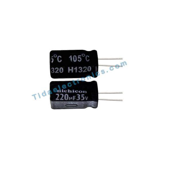 خازن الکترولیتی 220UF 35V