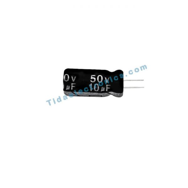 خازن الکترولیتی 10UF 50V
