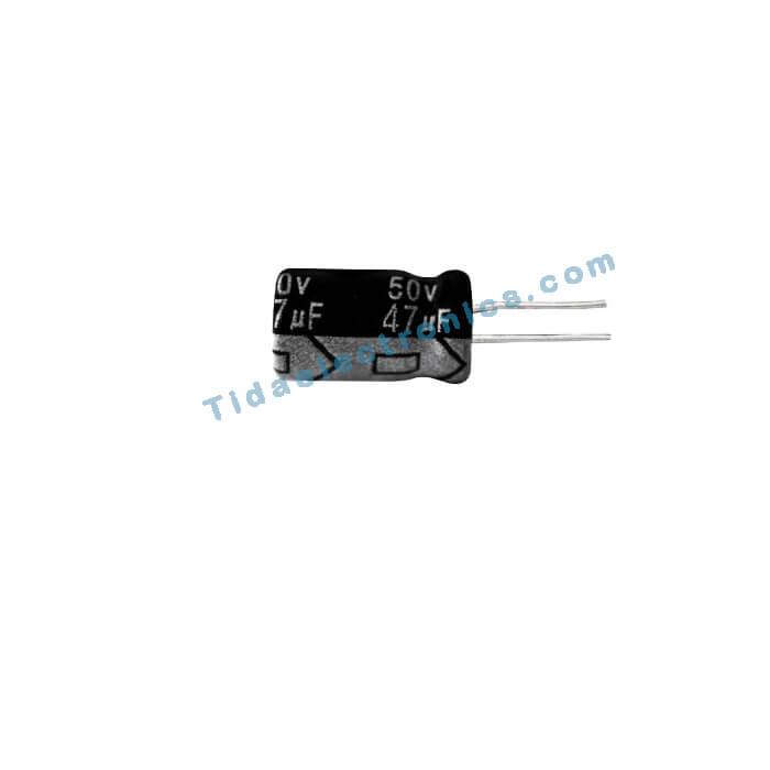 خازن الکترولیتی 47UF 50V