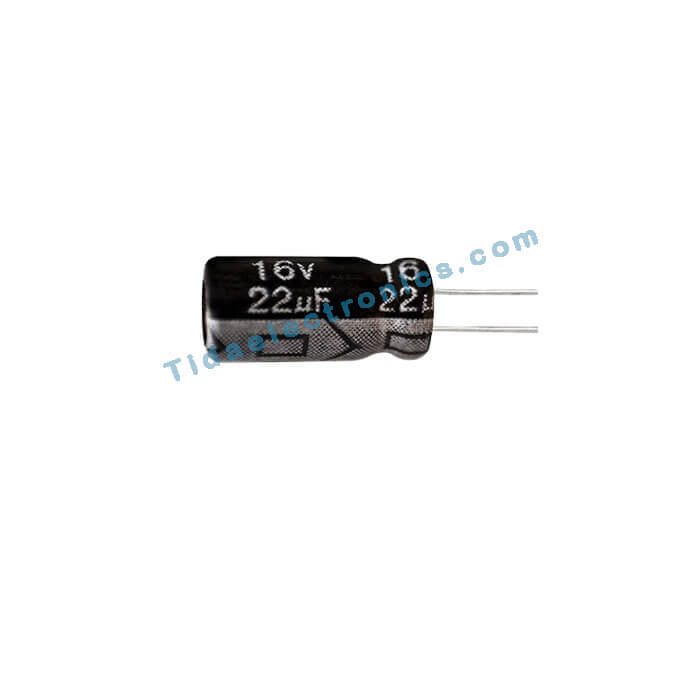 خازن الکترولیتی 22UF 16V