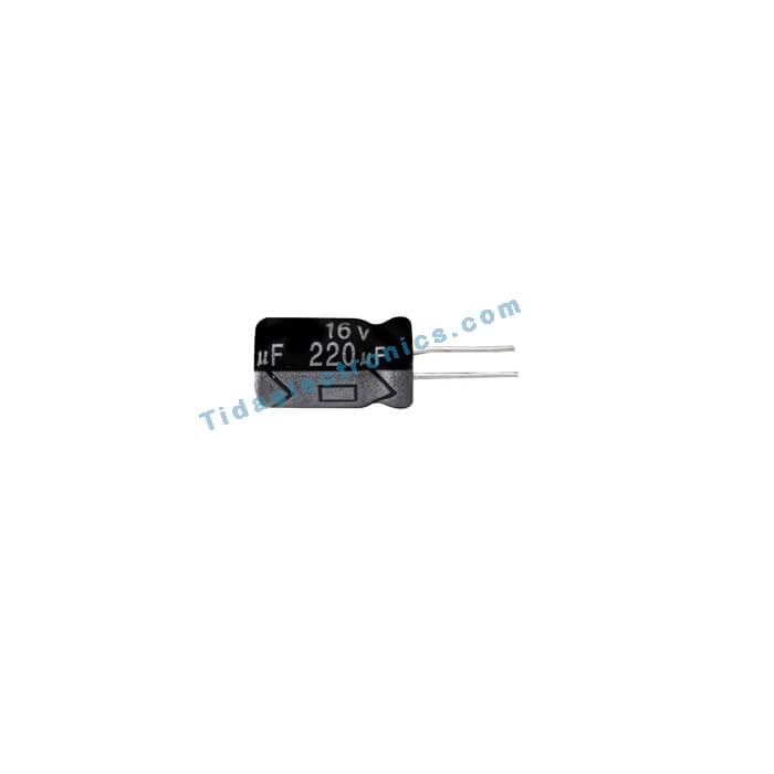 خازن الکترولیتی 220UF 16V