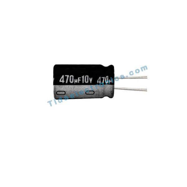 خازن الکترولیتی 470UF 10V