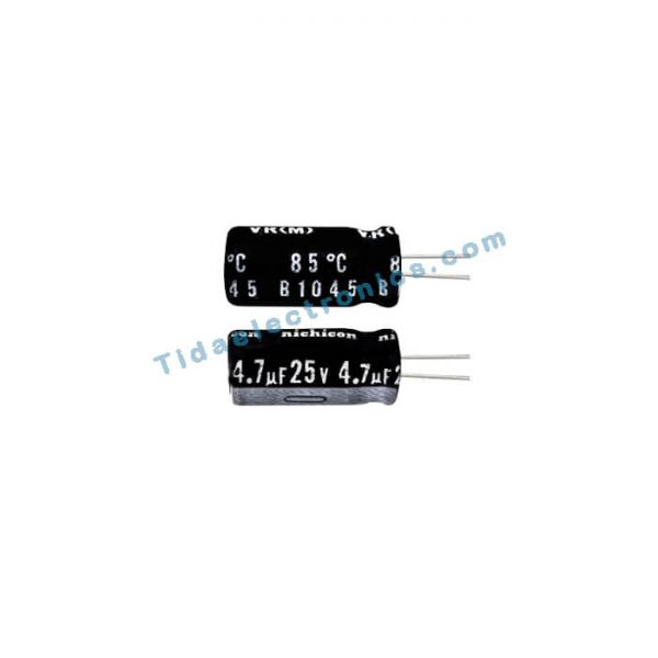 خازن الکترولیتی 4.7uf 25v