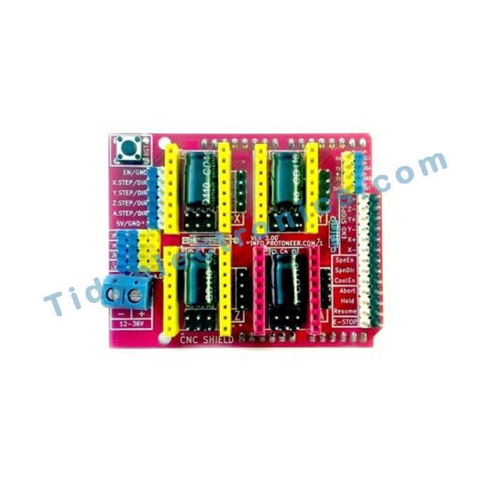 شیلد مخصوص V3.0 ورژن CNC آردینو Arduino CNC Shield