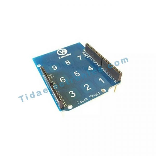 شیلد تاچ پد آردینو Arduino Touch Pad shield