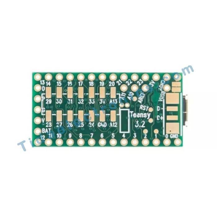 برد ARM ورژن 3.2 با تراشه Teensyبر پایه bit ARM Cortex-M432
