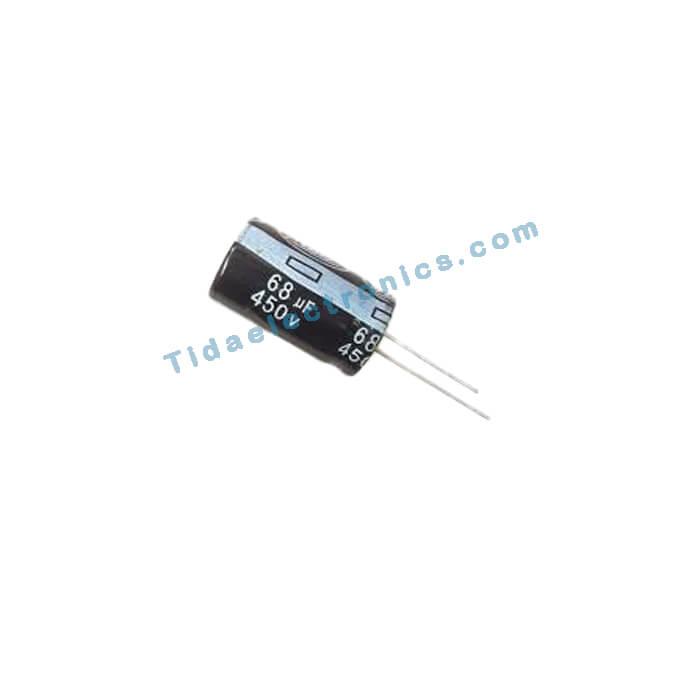 خازن الکترولیتی 68UF 450V