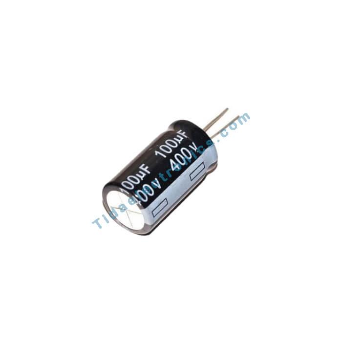خازن الکترولیتی 100UF 400V