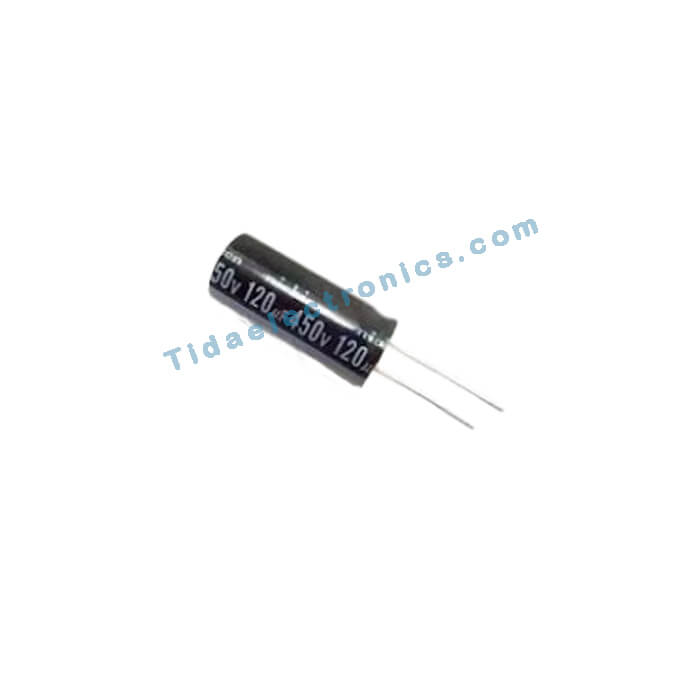 خازن الکترولیتی 120UF 450V