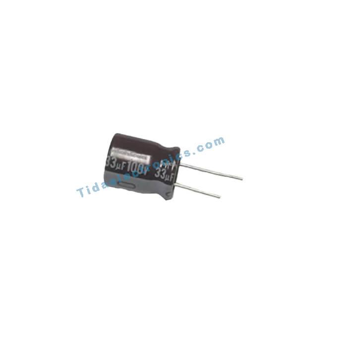 خازن الکترولیتی 33UF 100V