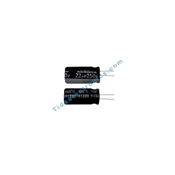 خازن الکترولیتی 22UF 250V