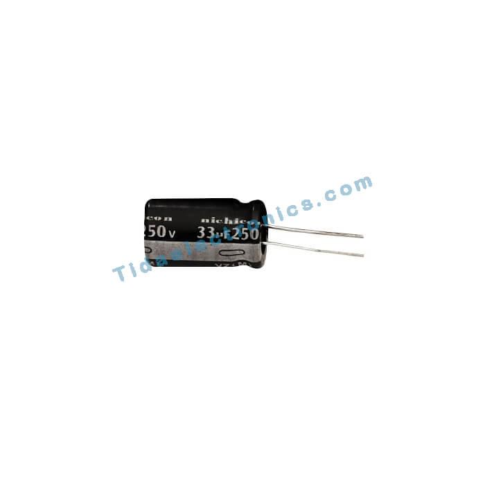 خازن الکترولیتی 33UF 250V