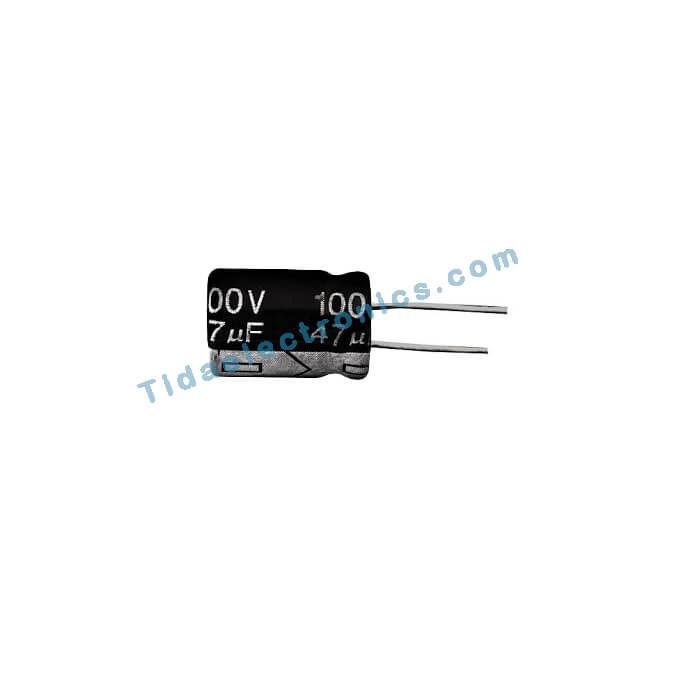 خازن الکترولیتی 47UF 100V