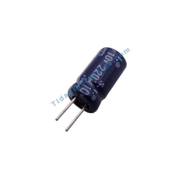 خازن الکترولیتی 220UF 10V