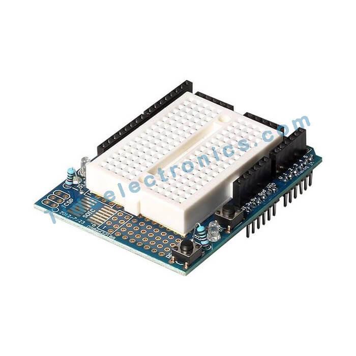 شیلد پروتوتایپ آردینو Arduino proto shield