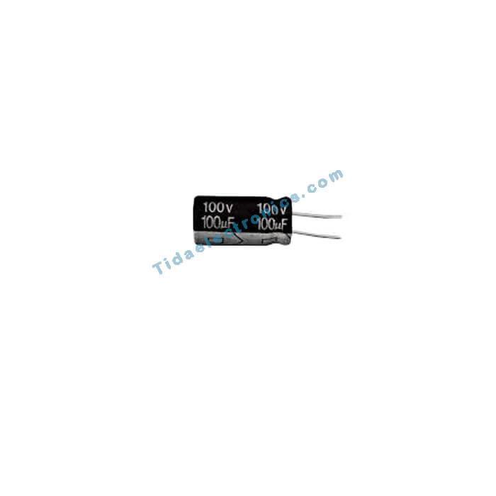 خازن الکترولیتی 100UF 100V