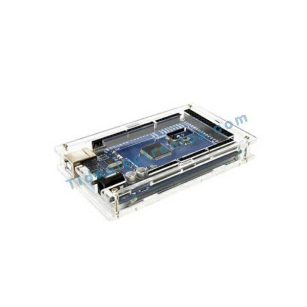 جعبه پلکسی شفاف کیس برد آردینو Arduino Mega2560 BOX