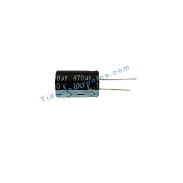 خازن الکترولیتی 470UF 100V