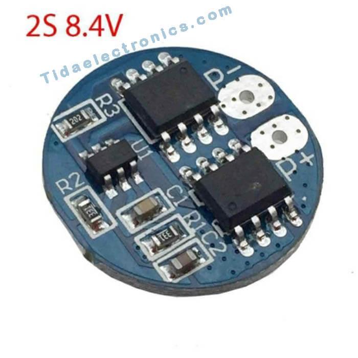 بردکنترل شارژباتری لیتیوم 8.4 با ولتاژ 2S ولت جریان 5 آمپر