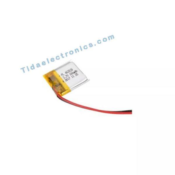 باتری لیتوم پلیمر Li-po 3.7 60mAh*20mm11 تک سل