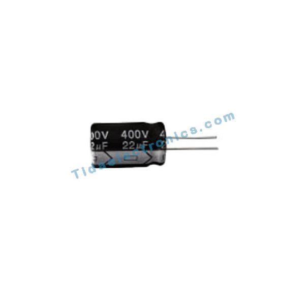 خازن الکترولیتی 22UF 400V