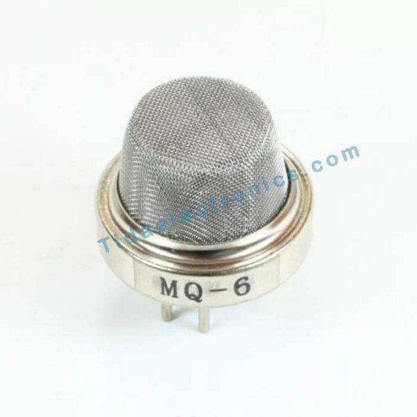 سنسور تشخیص گاز MQ6 با LPG