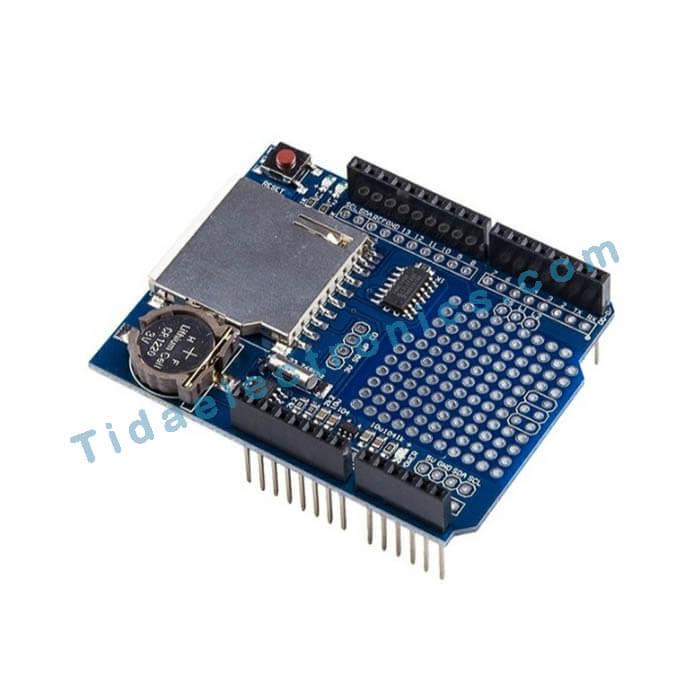 شیلد آردینو دیتالا گر Arduino Shield Data Loger
