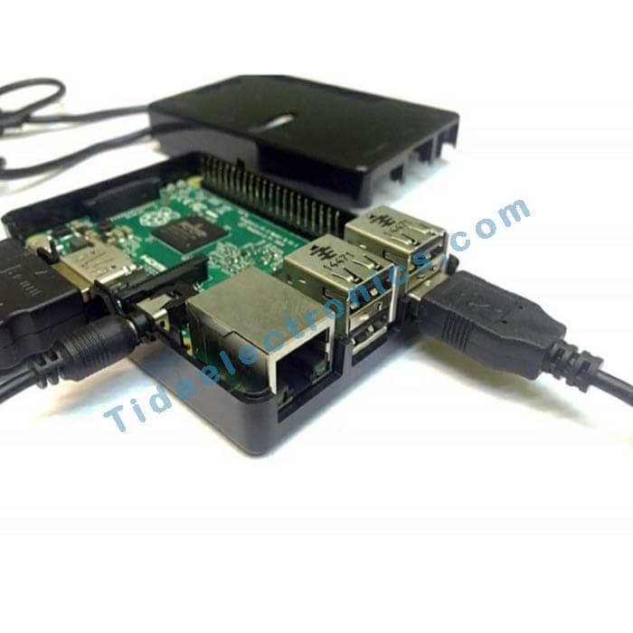 کیس رزبری پای Raspberry pi GPIOCase با قابلیت دسترسی به پورت