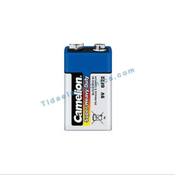 باتری مدل Camelinکمیلون 9ولت F22-6مناسب استفاده در آردینو