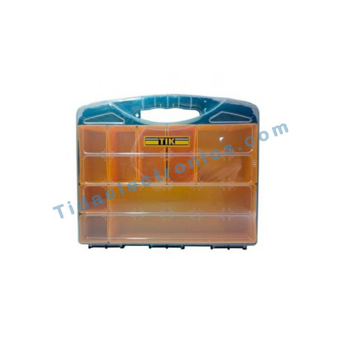 جعبه کیفی قطعات تیک -جعبه پلاستیکی حمل قطعات