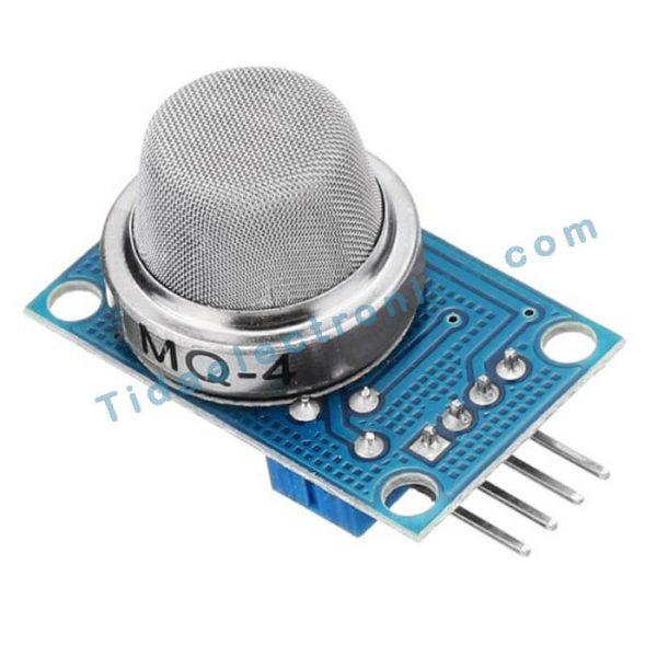 ماژول سنسور تشخیص گاز متانMQ-4 وگاز طبیعی CNG