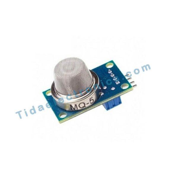 ماژول بدنه فلزی سنسور MQ5 تشخیص گاز شهری مناسب اینترنت اشیاء IOT Sensor