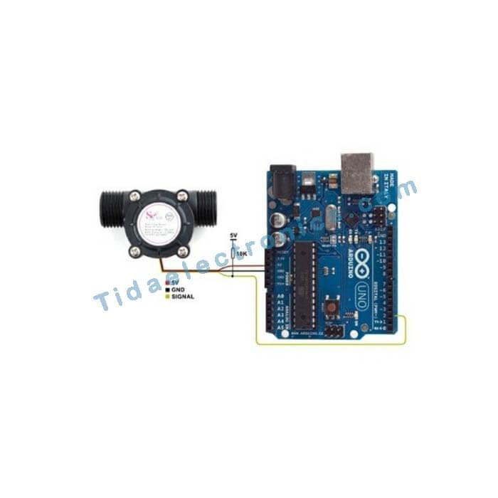 ماژول سنسور جریان آب YFS201 Water Flow Sensor