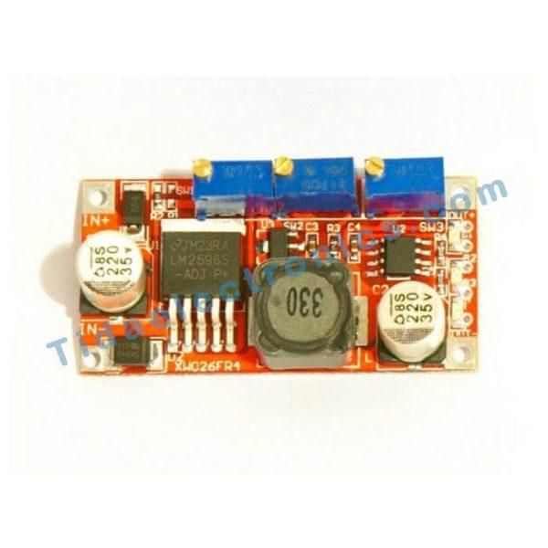 ماژول تغذیه با قابلیت LM2596 تنظیم جریان A3