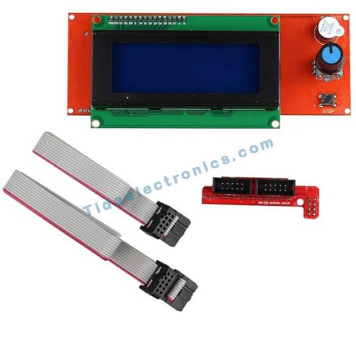 ماژول هوشمند X20 نمایش گر LCD 4 پرینتر سه بعدی آردینو RepRap LCD