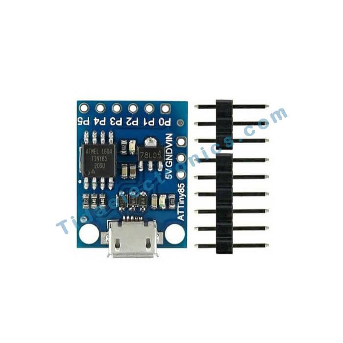 برد آردینو با تراشه مناسب Attiny85 اینترنت اشیاء Attiny85 Micro USB