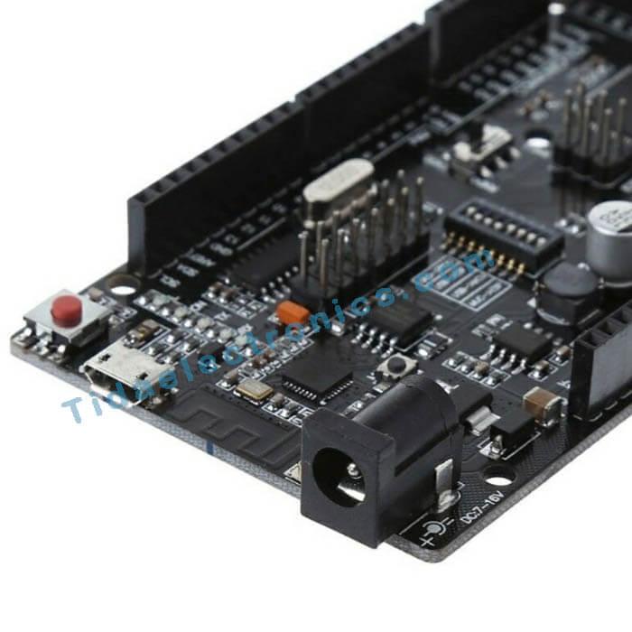 برد آردینو باتراشه وای فا ی Mega 2560-ESP8266 Nodemcu