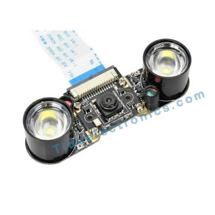 یک جفت اینفرادر مخصوص دیددر شب دوربین رزبری Raspberry Pi Camera IR Night vision