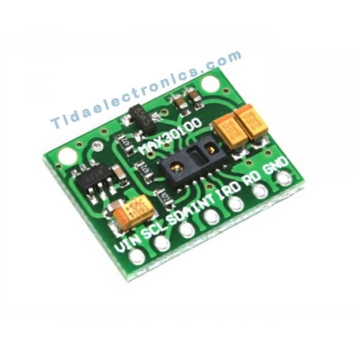 ماژول اوکسیمتر ضربان قلب MAX30100 Pulse oximeter