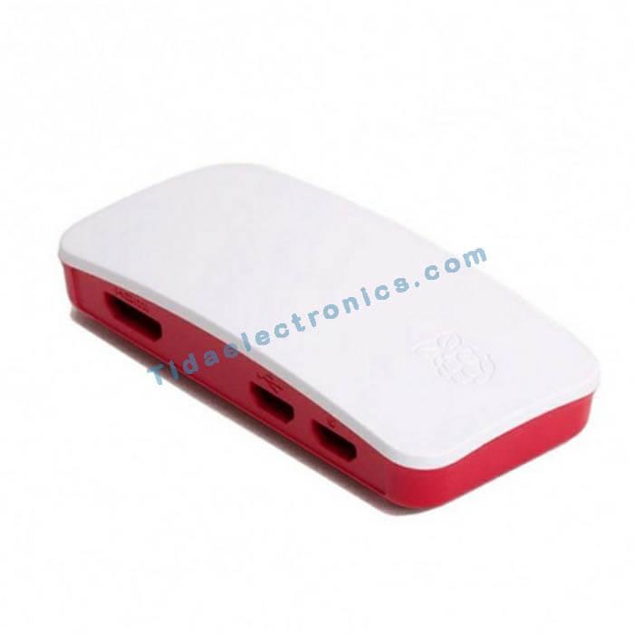 جعبه رزبری پای زیرو Raspberry pi Zero W به همراه کابل دوربین فلت