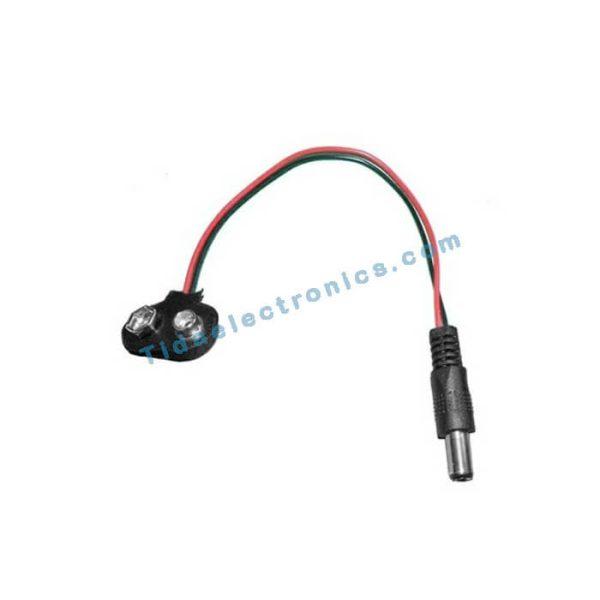 کابل برق اردینو Arduino Power Cable باسر باتری 9ولت