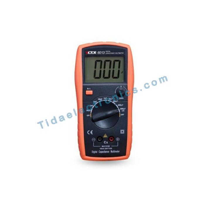 مولتی متر خازن سنج دیجیتال VICTOR 6013 ویکتور