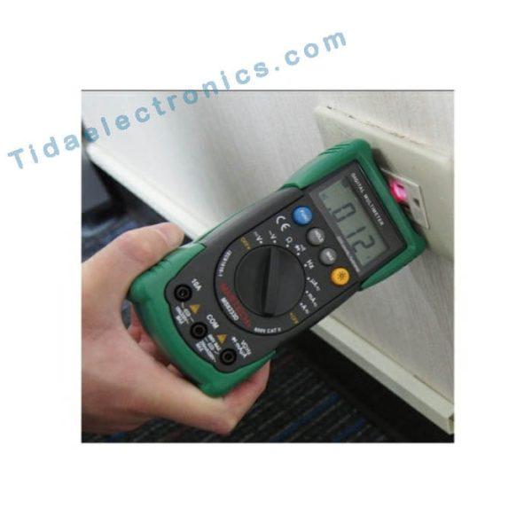 مولتی متر دیجیتال مستک MASTECH MS8233 با سنسور غیر تماسی اندازه گیری ولتاژ