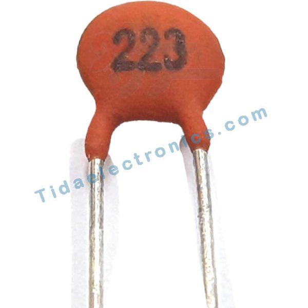 خازن سرامیکی 22nF / 50V