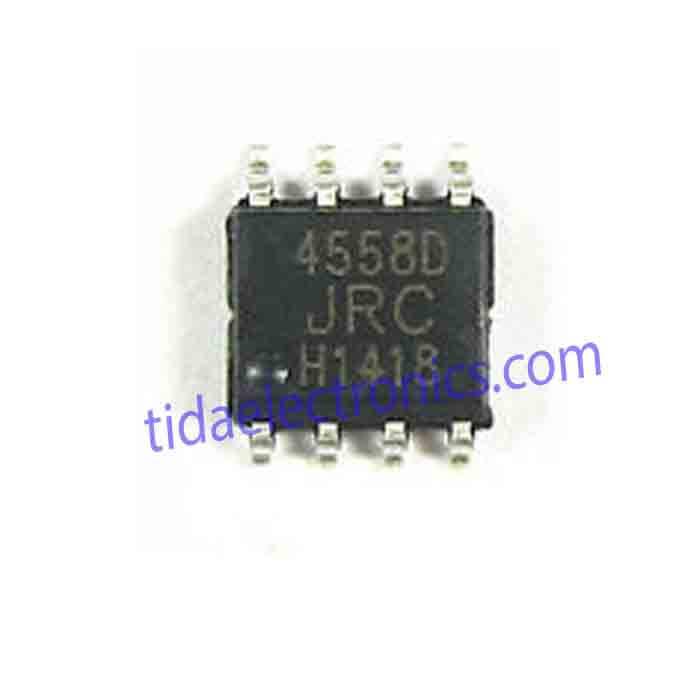 آی سی IC SMD 4558D JRC